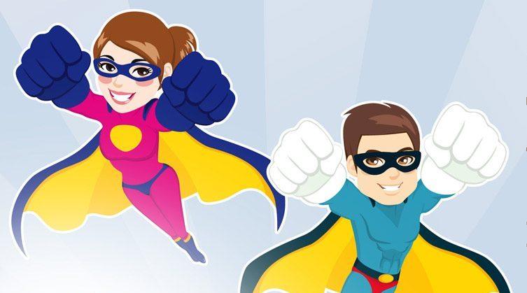 Superheld/innen-Team sucht Verstärkung